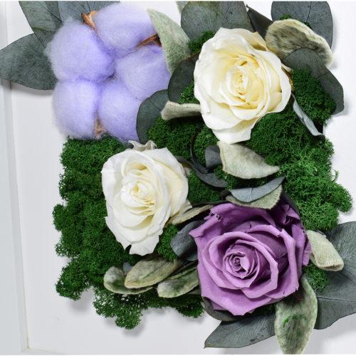 Панно на стену декоративное купить настенное стабилизированных цветов из мха