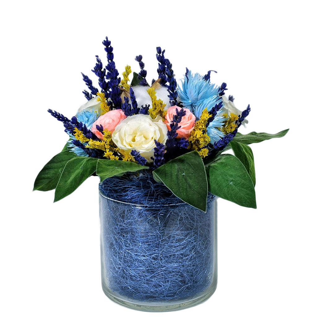 Букет из стабилизированных цветов - Марсель