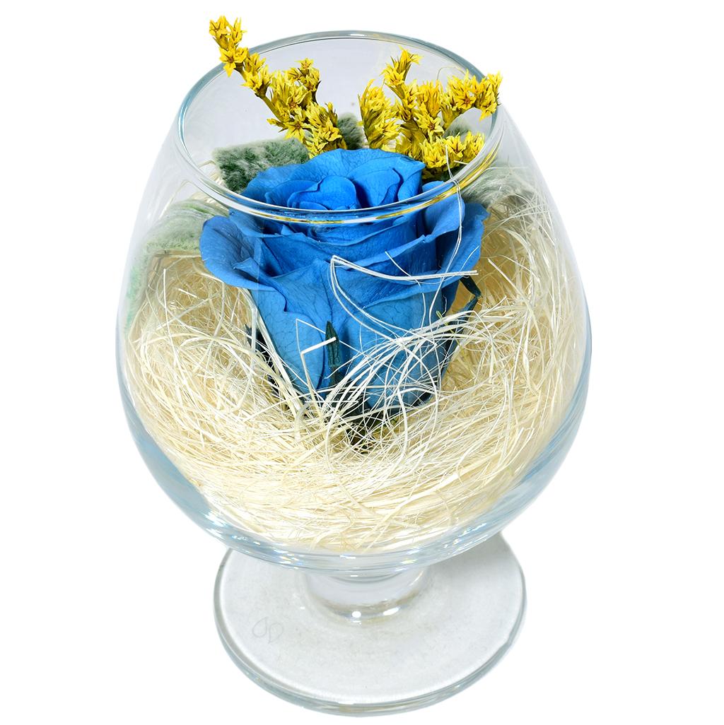 Стабилизированные цветы в стекле - Таити