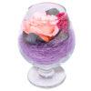 Стабилизированные цветы в стекле вечная роза композиции купить Роза де Луар