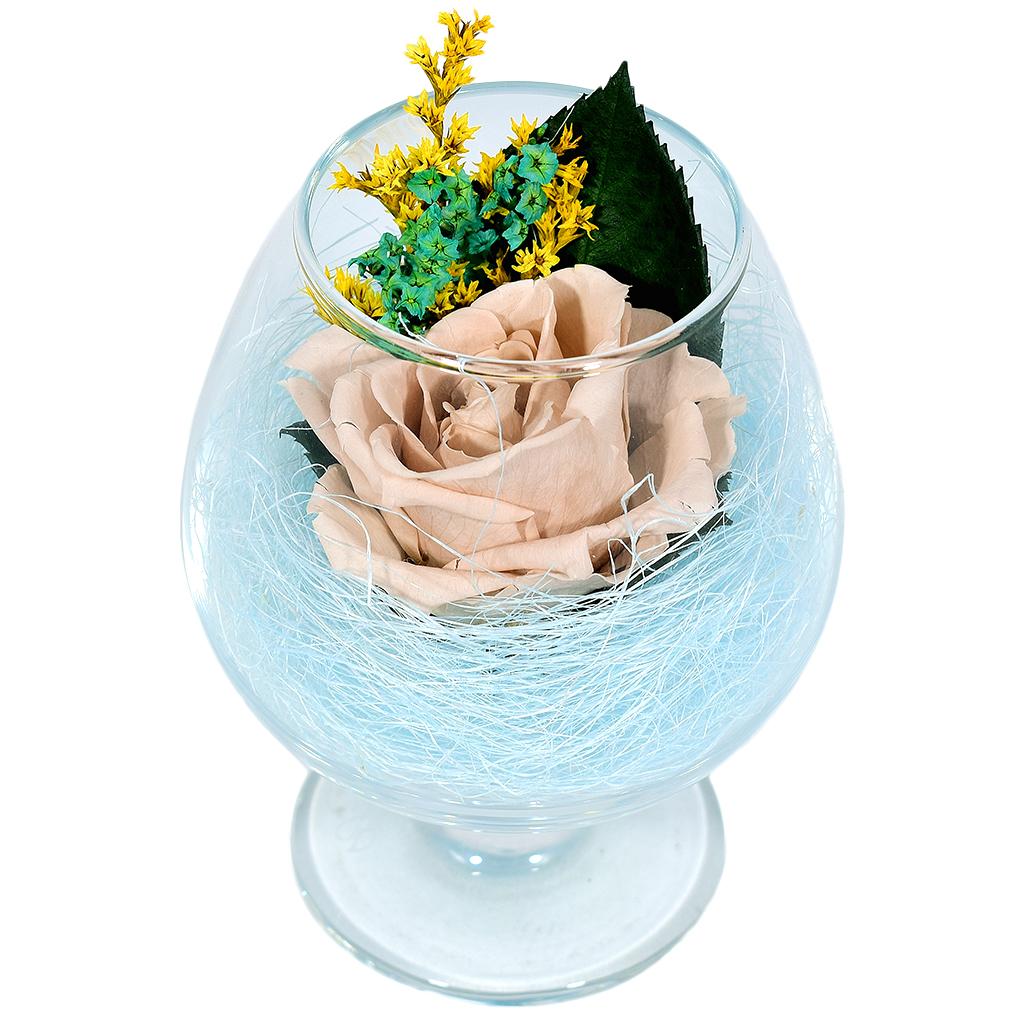 Стабилизированные цветы в стекле - Cherry Blossom