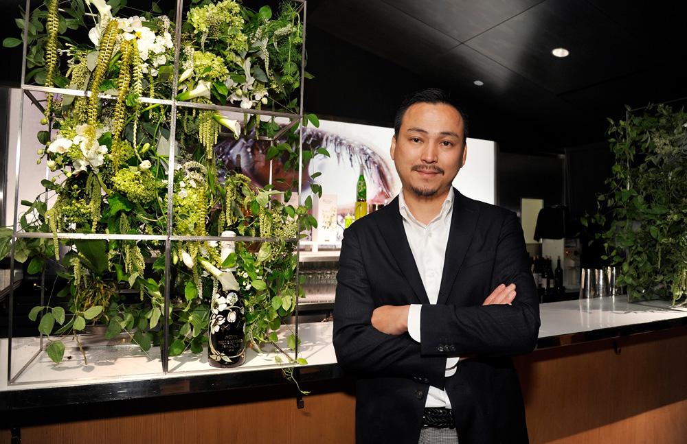 выставка заледеневших цветов эко декор макото азума