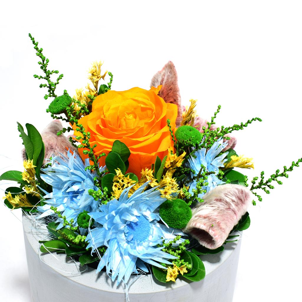 Композиция из цветов - Эльдорадо
