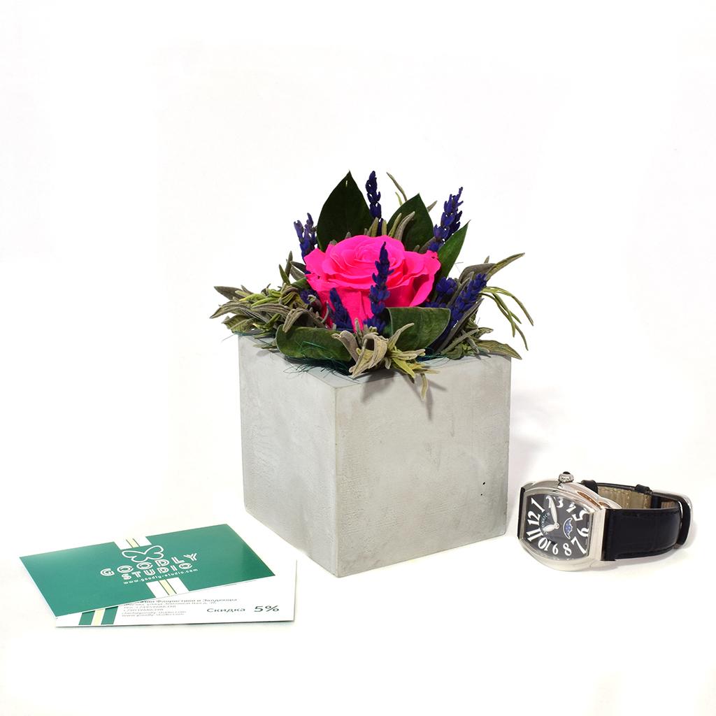 Композиция из цветов - Кассиопея