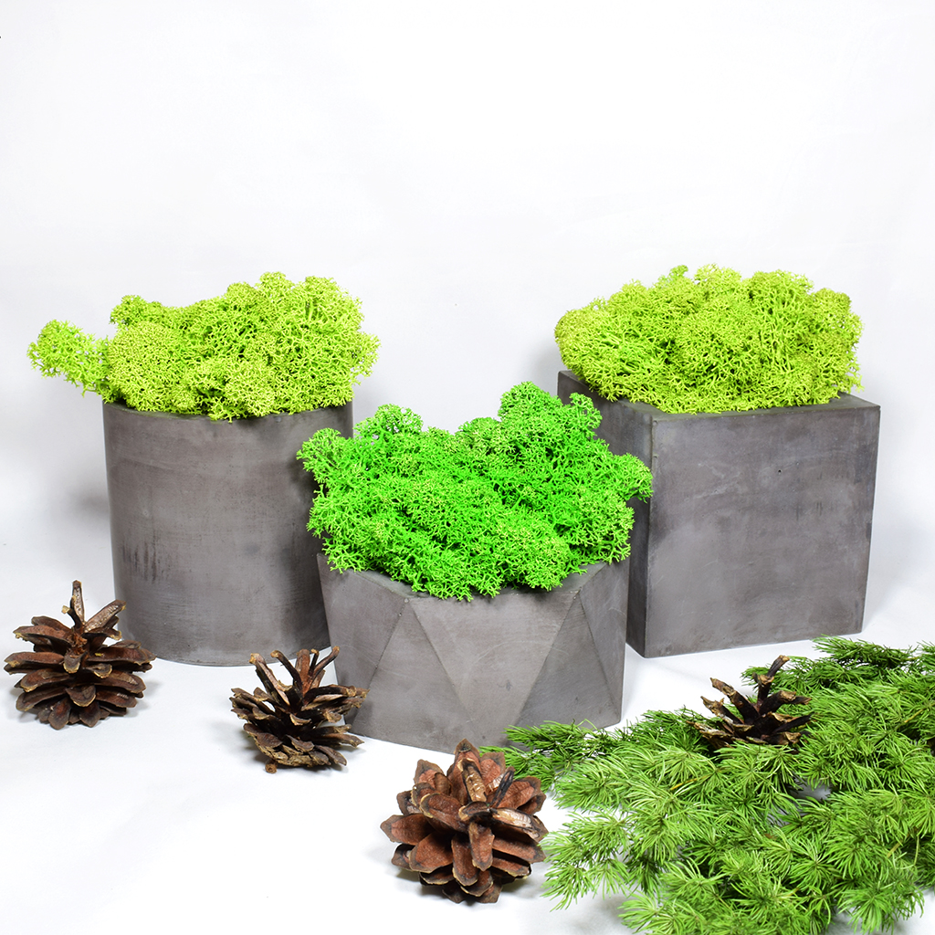 Декоративные изделия из бетона экологично