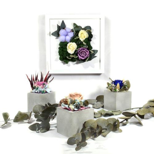 панно из цветов на стену купить фото