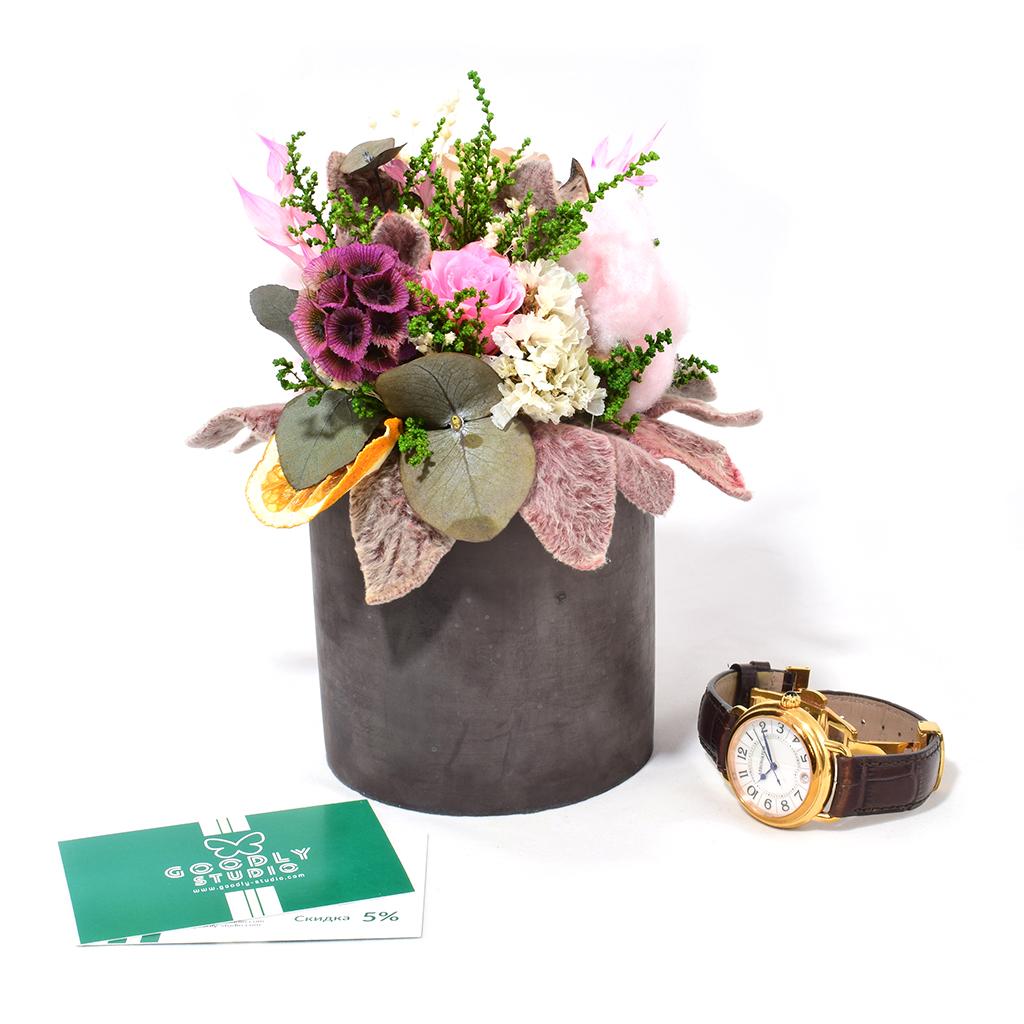 Композиция из цветов - Лира