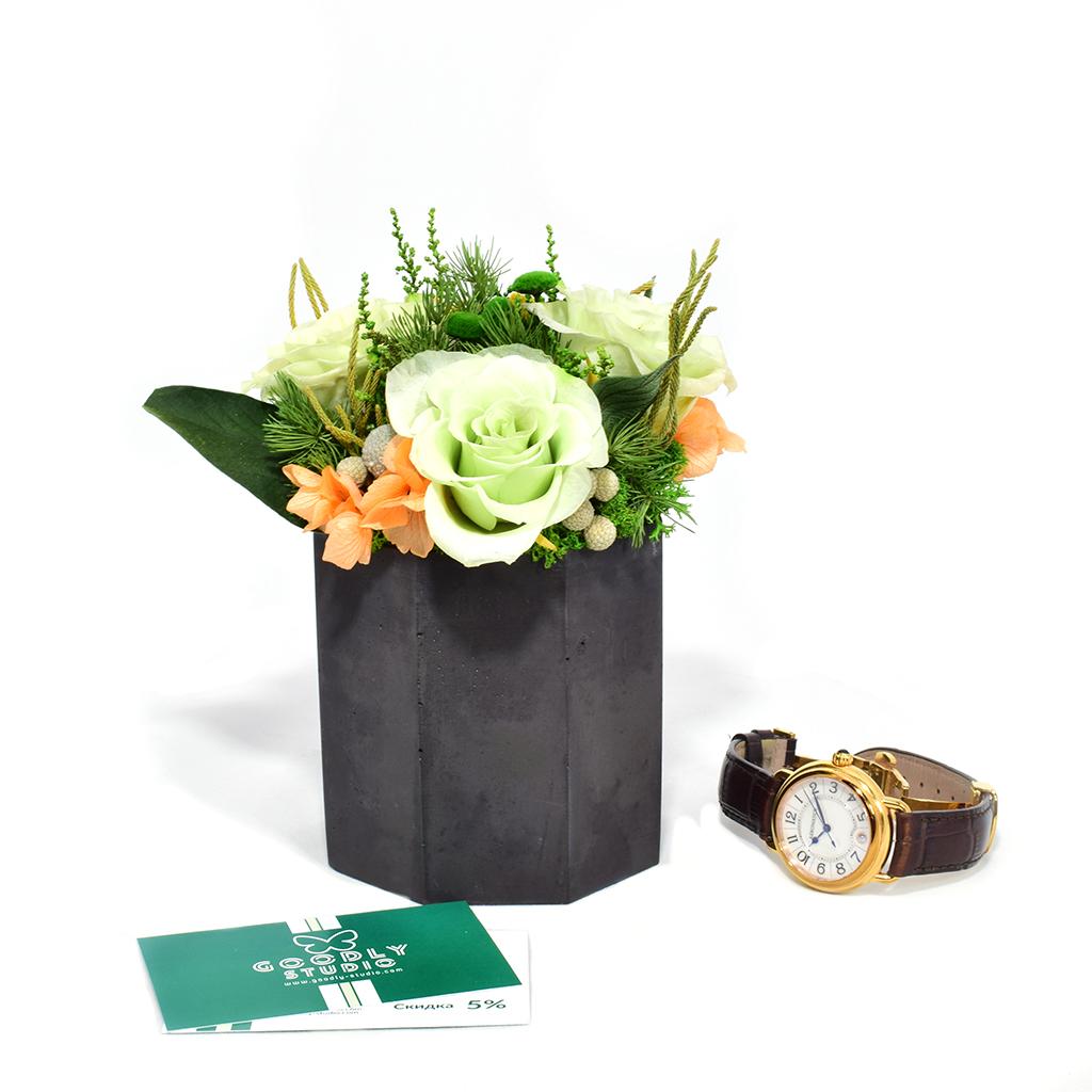 Композиция из цветов - Le Vert