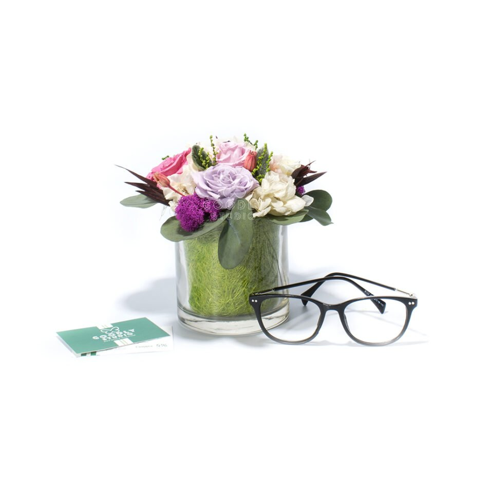 Букет из стабилизированных цветов купить интернет магазин