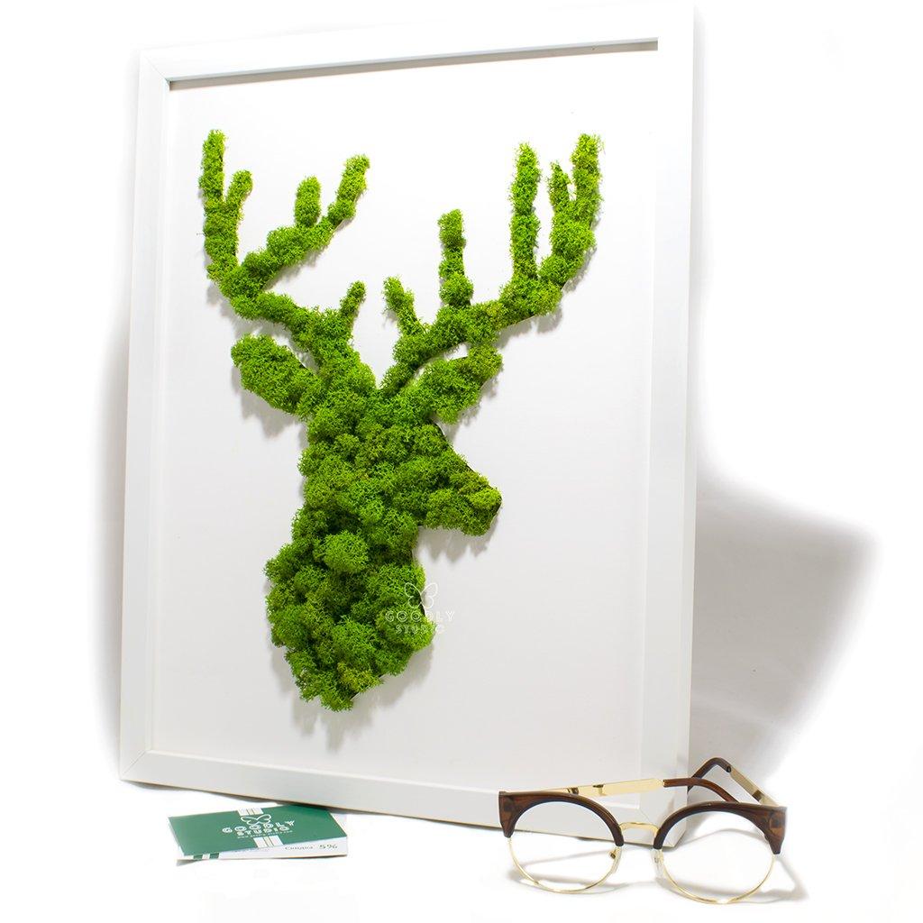 Moss art - Олень