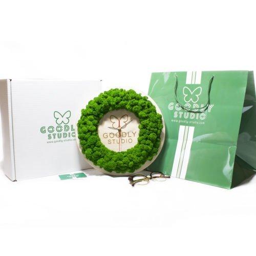Настенные часы с логотипом на заказ