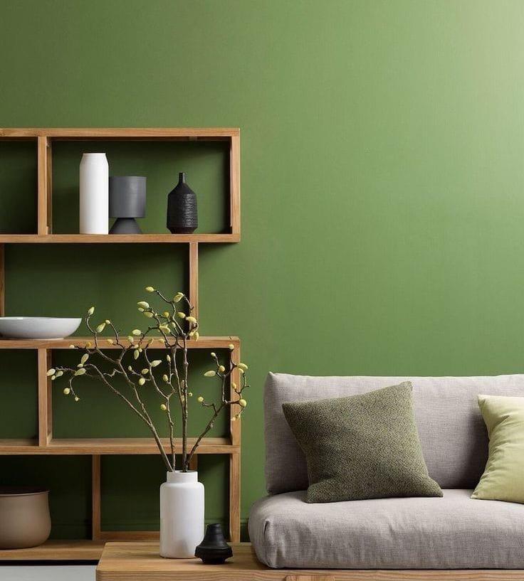 21.30.2 Зелёный цвет в интерьере дома