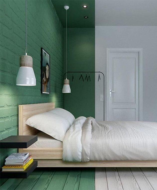 21.30.4 Зелёный цвет в интерьере дома