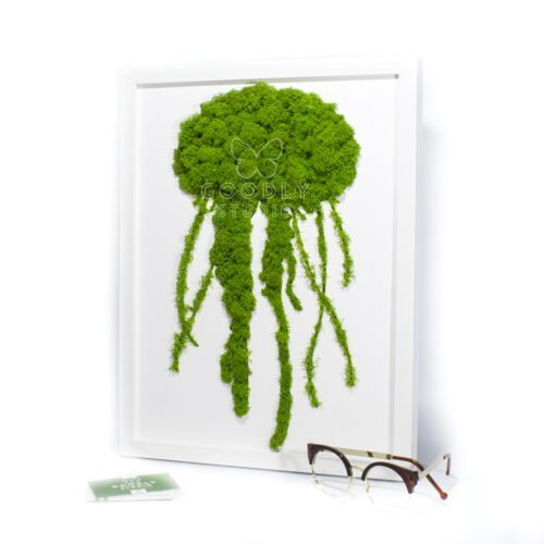 Moss art из мха