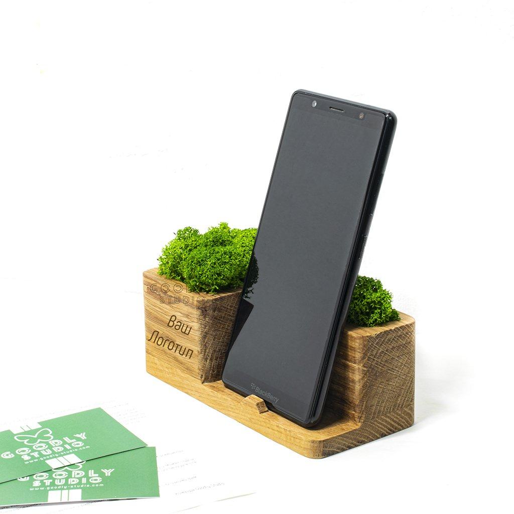 Корпоративный подарок - подставка для смартфона 1.0