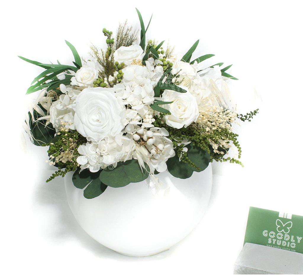 Букет из стабилизированных цветов - Jardin