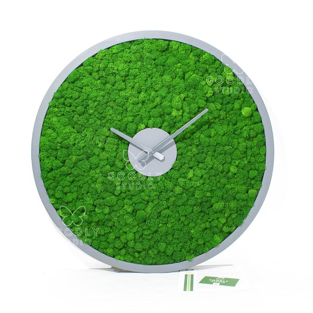 Часы из мха 5.0 D - 60 см.